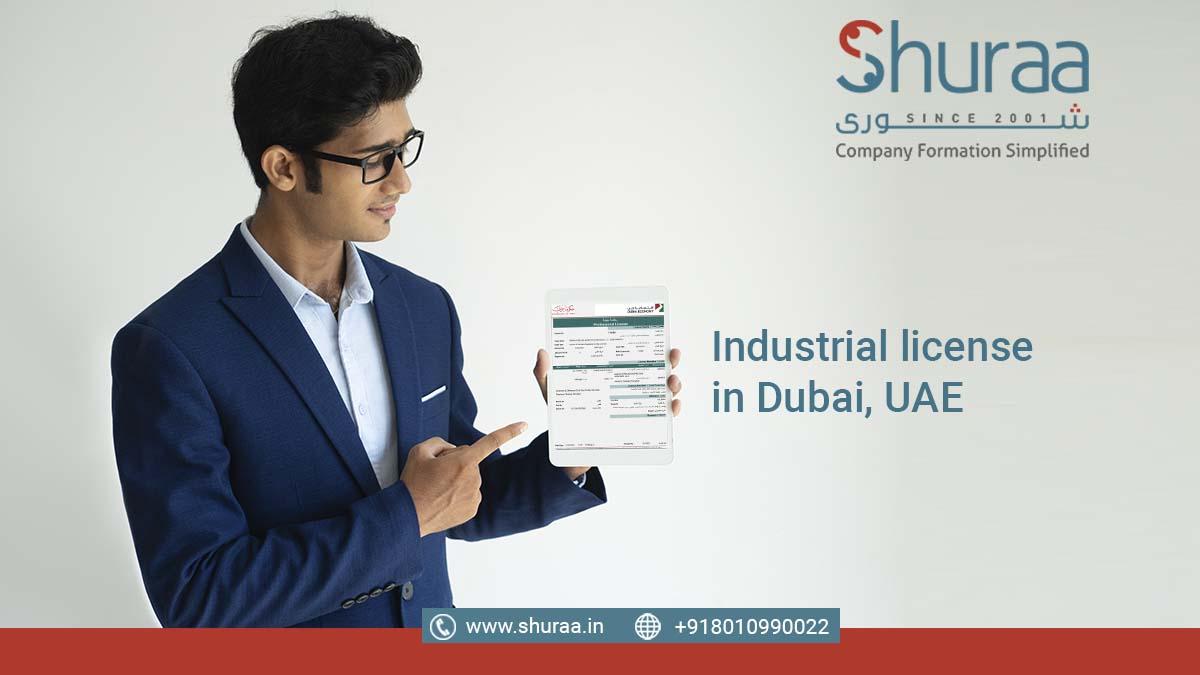 Industrial license in Dubai