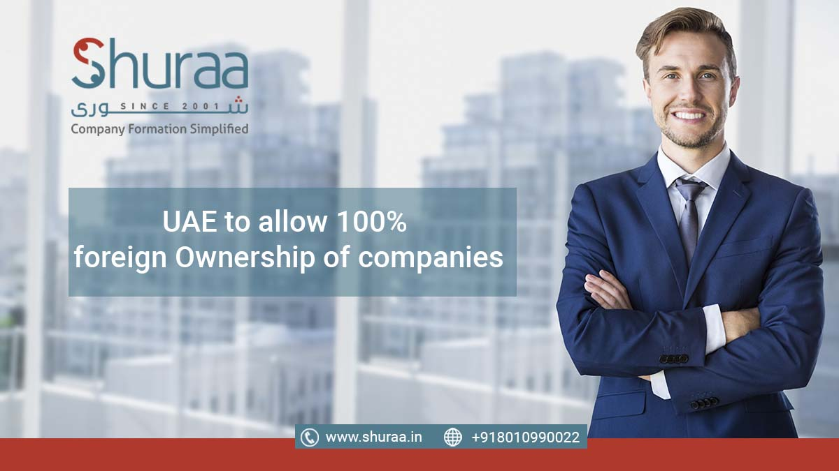 100% ownership in the UAE