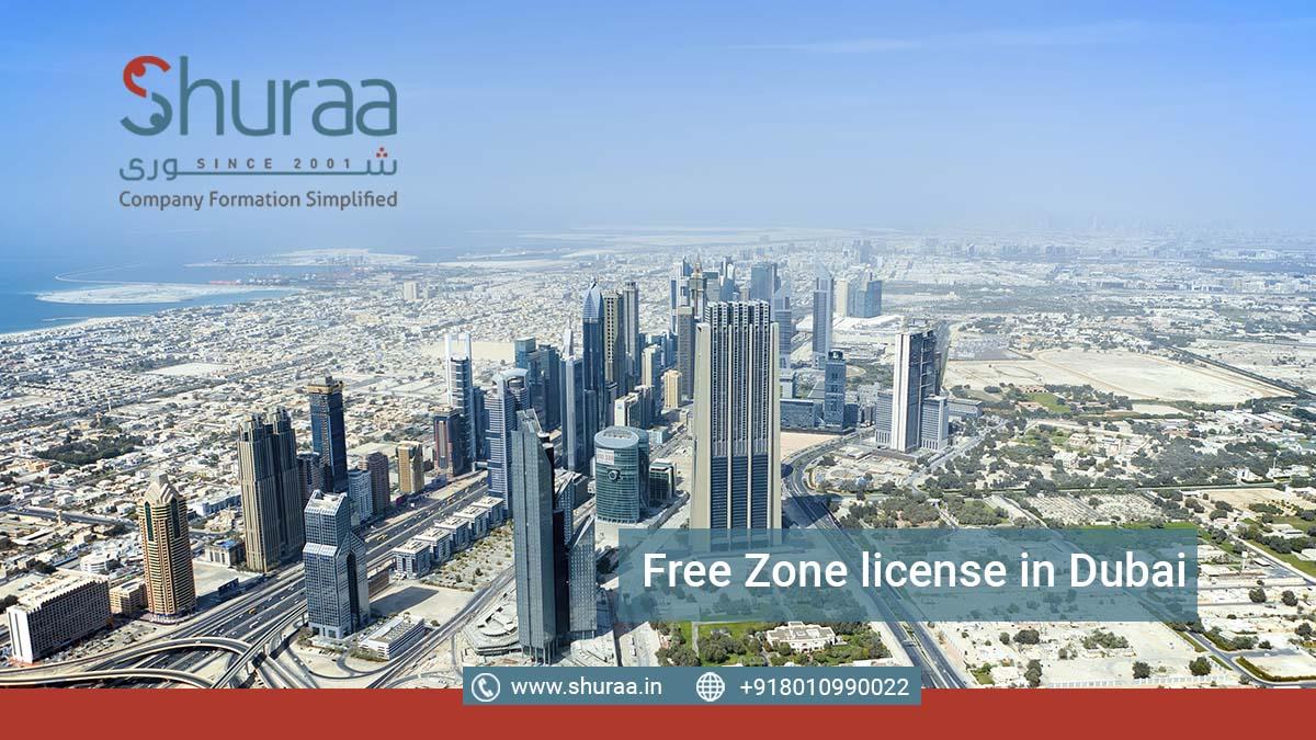 Free Zone license in Dubai
