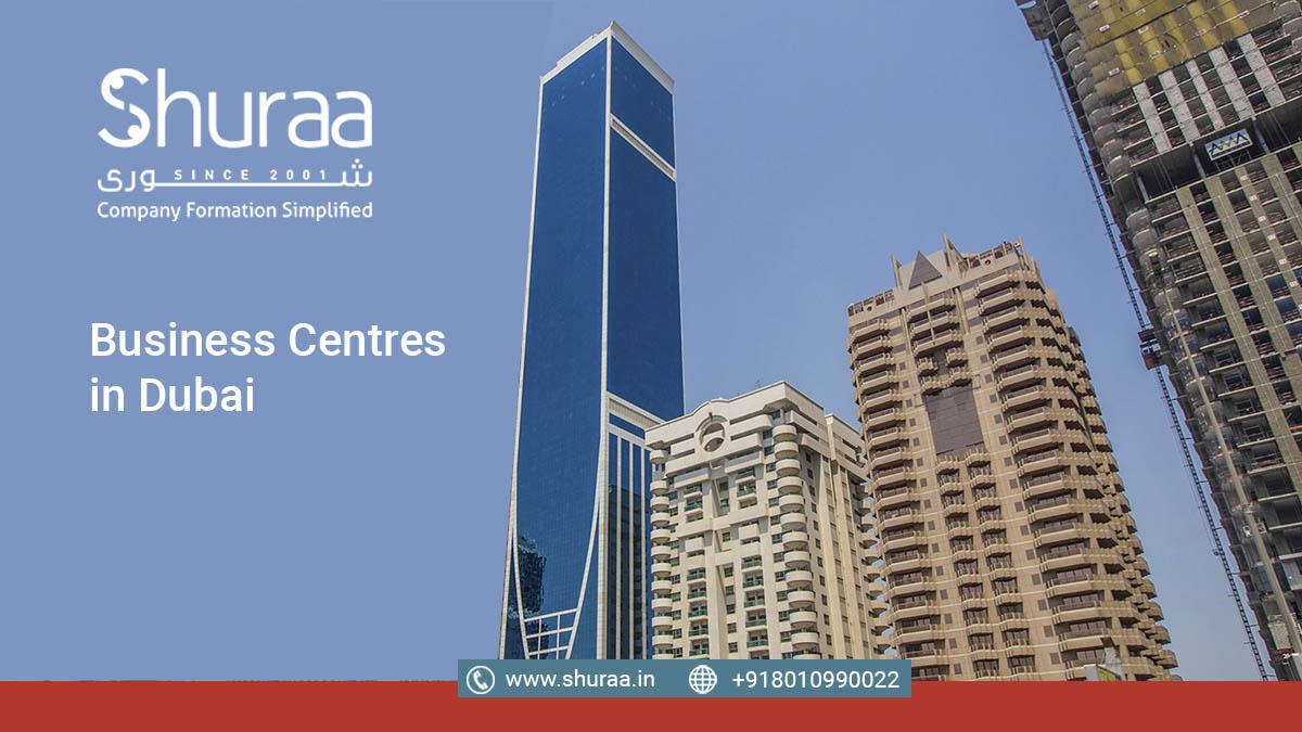 business centre in Dubai