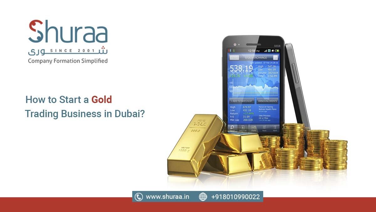 gold trading business in Dubai