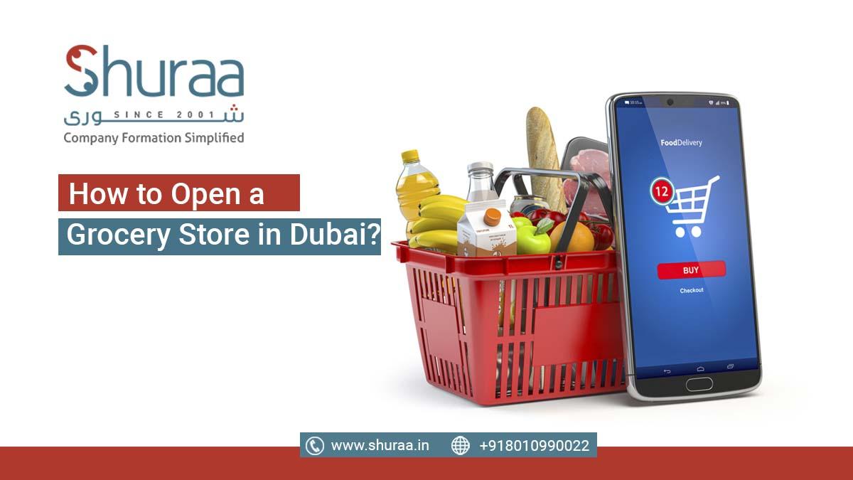 grocery store in Dubai