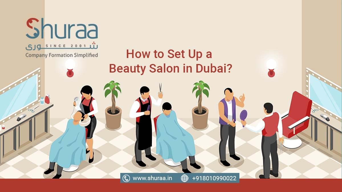 beauty salon in Dubai