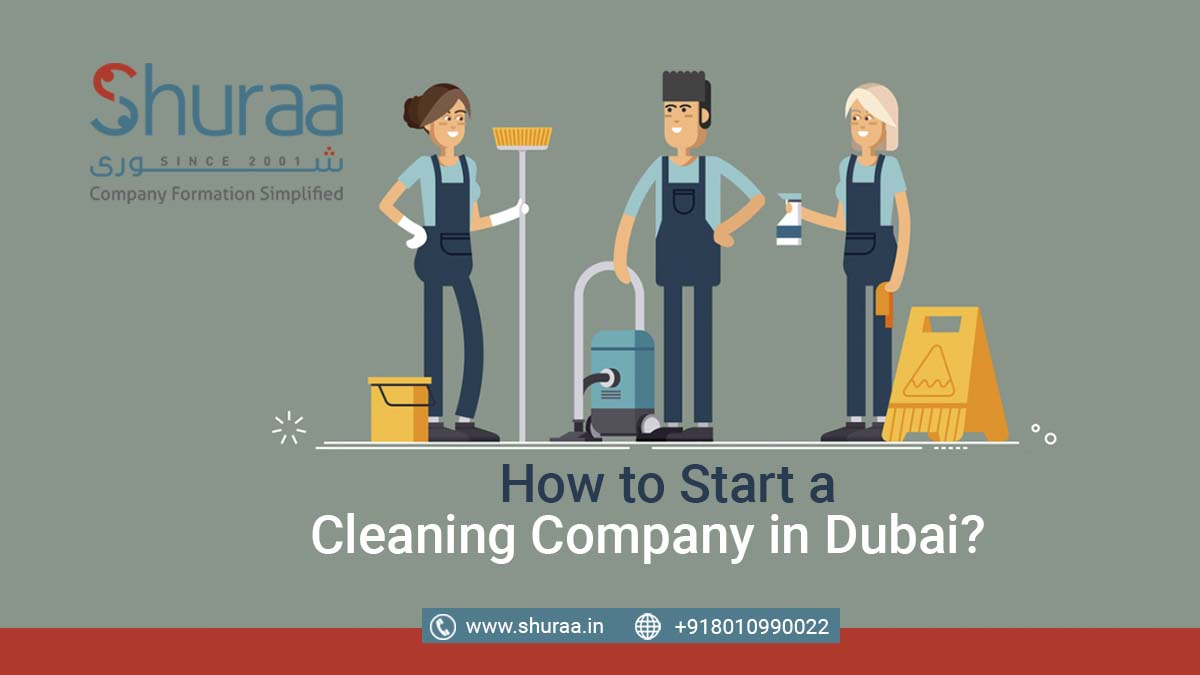 start a cleaning company in Dubai