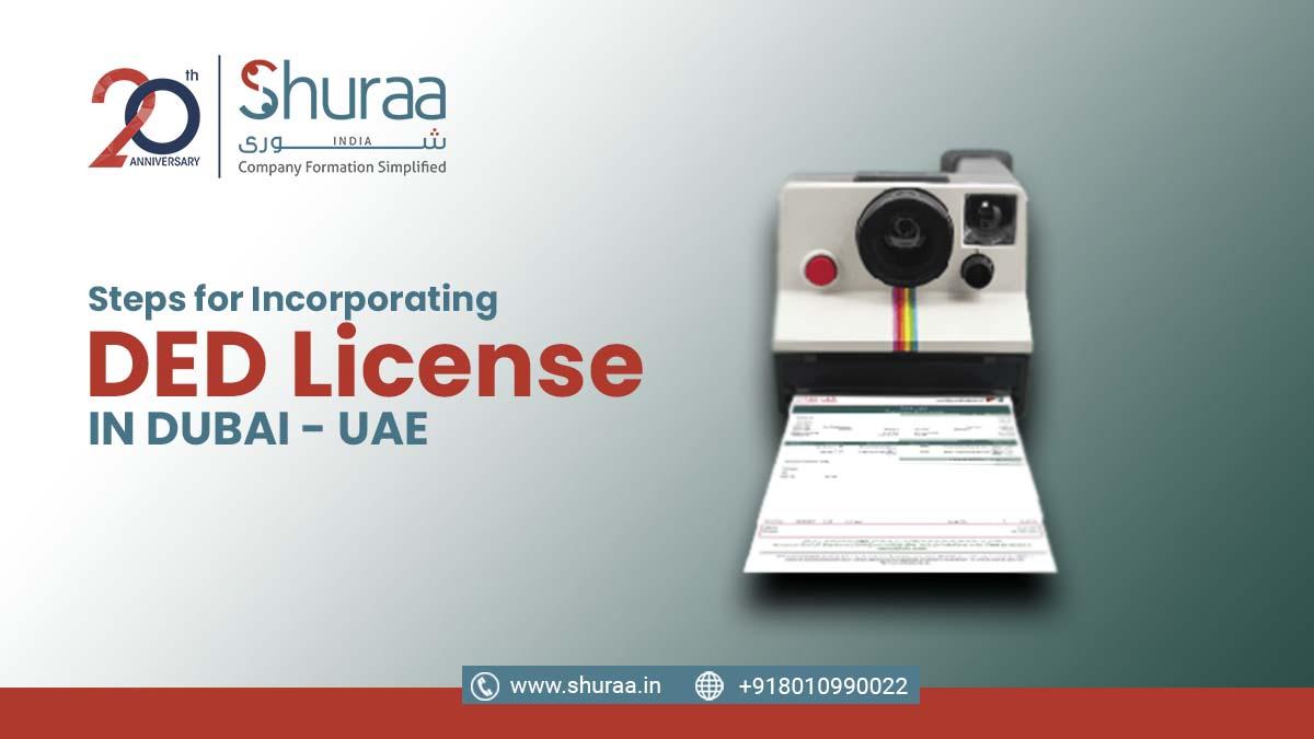 DED License in dubai